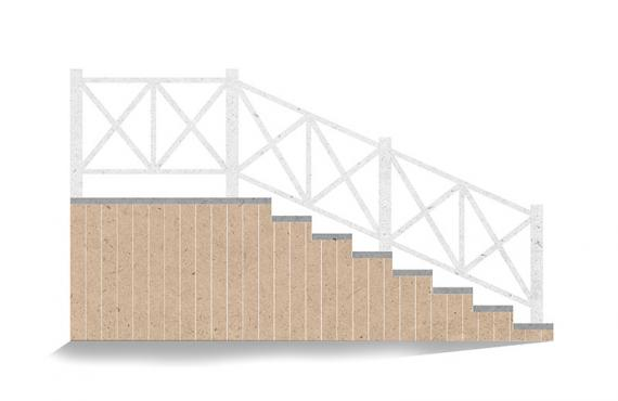 Ограждения из ДПК «Эдинбург»