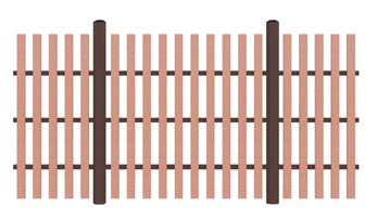 Заборы Terradeck Z Plank (Россия)