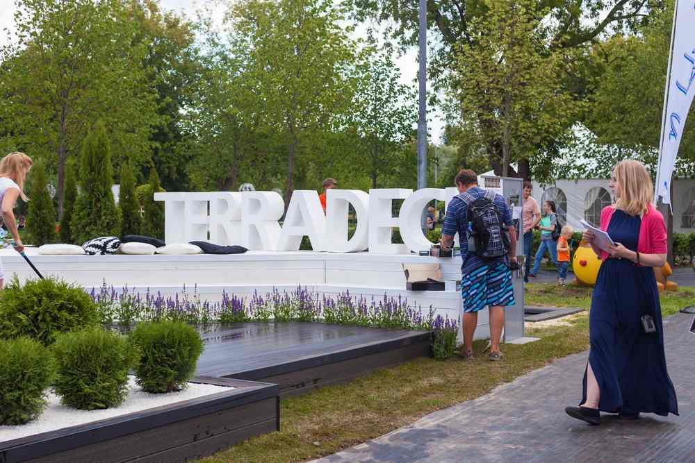 Террадек на Moscow Flower Show 2014